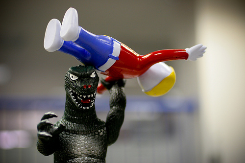 Godzilla vs Mr. Bill