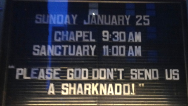 Sharknado church